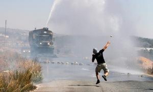 demonstran palestina